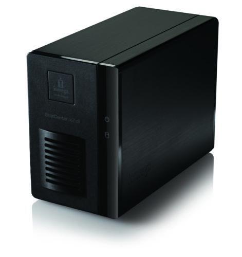 Dispositivo NAS de pequeno porte.